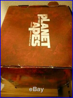 Planet of the Apes Ltd Caesar Warrior Coll head Bust uk BLU RAY Boxset rare oop