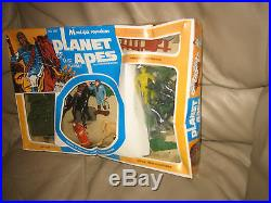 Planet of the Apes MULTIPLE TOYMAKERS PLAYSET 1970's NEW IN BOX! SEALED