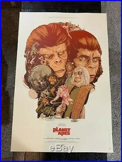 Planet of the Apes Martin Ansin Print Mondo Numbered
