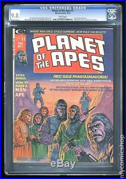 Planet of the Apes (Marvel Magazine) #1 1974 CGC 9.8 0502496013