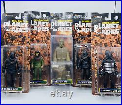 Planet of the Apes Medicom Action Figure Lucius Greatest Ape Soldier Ape General