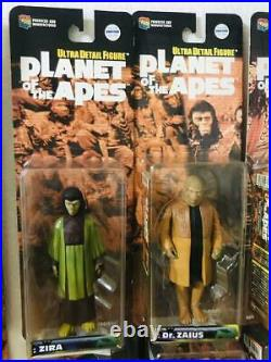 Planet of the Apes Medicom Toy 16 figures