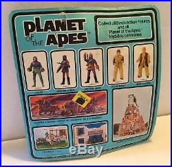 Planet of the Apes Mego 1967 Alan Verdon Toy Figure Mint On Card Vintage Old