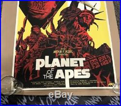 Planet of the Apes Mondo Poster by Francesco Francavilla 24x36 #84/250 Poster