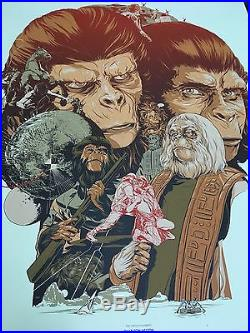 Planet of the Apes Mondo Poster by Martin Ansin #21/415