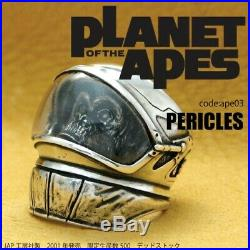 Planet of the Apes PERICLES Silver 925 Ring Limited Edition Size US 6.5-7/UK M-N