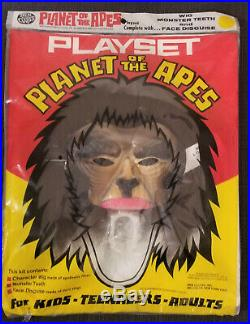 Planet of the Apes Playset Ben Cooper RARE unopened 1974