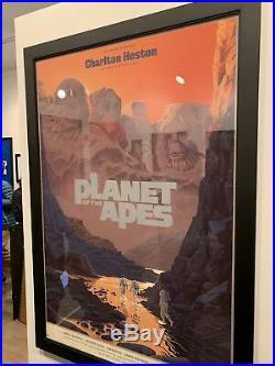 Planet of the Apes (Reg) Laurent Durieux Mondo Screen Print Poster Regular