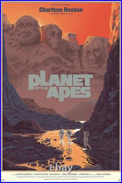Planet of the Apes Regular Mondo Screen Print by Laurent Durieux Edition of 275
