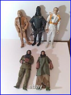 Planet of the Apes Sideshow 12 Figures(5) Collection Lot-Ursus, Zaius, Taylor, etc