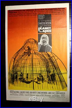 Planet of the Apes (USA, 1968) 1 Sheet Movie Poster