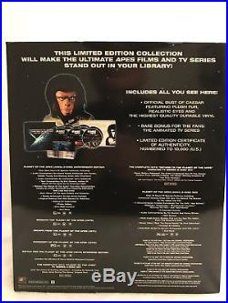 Planet of the Apes Ultimate Collection 14-Disc DVD Movie Set Caesar Bust Statue