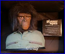 Planet of the Apes Ultimate Collection 14-Disc DVD Set with Caesar bust