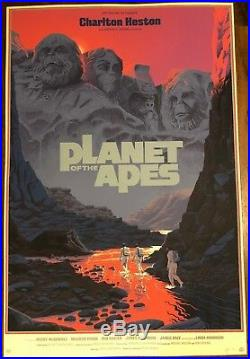 Planet of the Apes Variant Movie Poster by Laurent Durieux Mondo Print