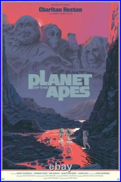 Planet of the Apes Variant by Laurent Durieux SIGNED Ltd x/150 Print Poster Art