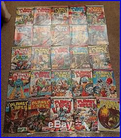 Planet of the Apes Weekly Marvel UK COMPLETE Full Set 1-123 with Free Poster
