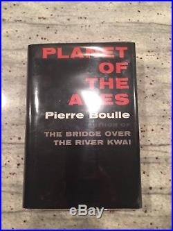 Planet of the Apes by PIERRE BOULLE First Edition 1963 1st Printing