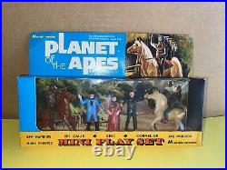 Planet of the Apes mini Playset M multiple toymakers vintage 1970s Mint Sealed