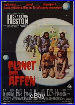 Planet of the Apes original release german movie poster