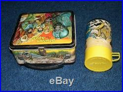 Planet of the Apes vintage lunch box and Thermos by Aladdin