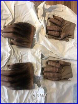 Planet of the apes 2001 Original Hands Gorilla Chimp Hand Prop store London