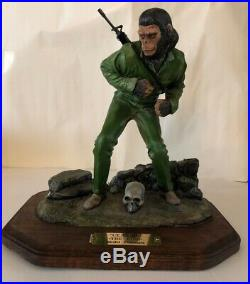 Planet of the apes Ceasar The King Model Prisoners Made In Montana USA Very Rare