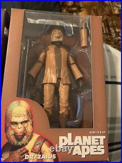 Planet of the apes action figures, Bape, futura, james Lavelle, unkle