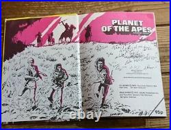 Planet of the apes authorized edition 70s vintage Certified Collection Fan Book