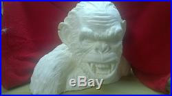 Planet of the apes life size bust koba UNPAINTED