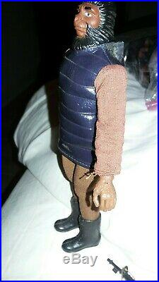 Planet of the apes soldier variant lizard, snake skin tunic jacket & gloves Mego