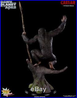 Pop Culture Shock Dawn of the Planet of the Apes Caesar Exclusive Statue AP New