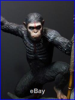 Pop Culture Shock Planet of the Apes Caesar Exclusive 1/4 Statue PCS SS