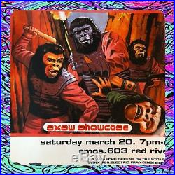 QUEENS OF THE STONE AGE 1999 FRANK KOZIK SIGNED PRINT PLANET OF THE APES Poster