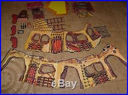 RARE MEGO PLANET OF THE APES VINTAGE FORTRESS PLAYSET With BOX COMPLETE POTA