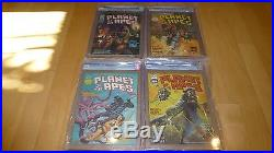 RARE Planet Of The Apes 1-29 Complete Set CGC 9.4 9.6 9.8 Graded comics High