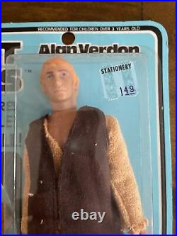 RARE Vintage Mego POTA Planet Of The Apes Alan Verdon Sealed Card MOC