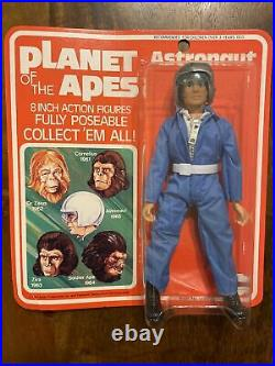 RARE Vintage Mego POTA Planet Of The Apes Astronaut Sealed Card MOC