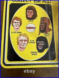 RARE Vintage Mego POTA Planet Of The Apes General Urko Sealed Card MOC