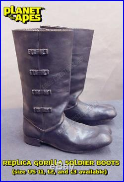 REPLICA 1968 Planet of the Apes Gorilla Soldier BOOTS (cosplay)
