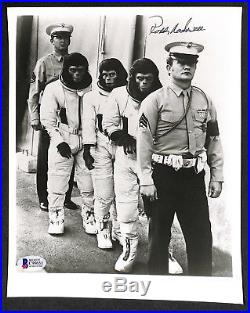 RODDY MCDOWELL PLANET OF THE APES AUTOGRAPHED SIGNED 8x10 PHOTO BECKETT BAS BGS