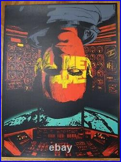 Raid71 Planet of the Apes'Icarus', Rare, Sold Out 45/50 signed Not Mondo