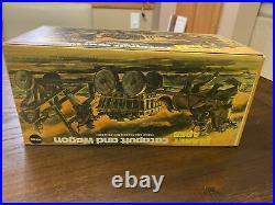 Rare 1967 Mego PLANET OF THE APES Catapult and Wagon SET with original Box Compl