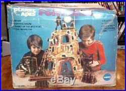 Rare 1967 Mego Planet Of The Apes Fortress In Box
