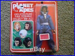 Rare! 1967 Planet of The Apes Full Set of 5 8 Figures NEW, Unopened