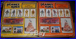 Rare All 10 Mego Vintage PLANET OF THE APES 8 Figures 1967 made in Hong Kong