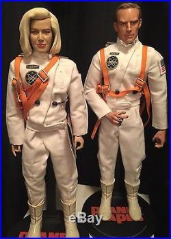 Rare Custom 1/6 Figure-Master Sideshow Planet Of The Apes Astronaut Figures