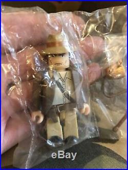 Rare Indiana Jones Chase Figure From Star wars series2 Kubrick Medicom Bearbrick