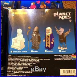 Rare KUBRICK Planet of The Apes Thade+Attar+Leo+Kaul Lot of 4 Figure Medicom Toy