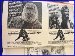 Rare Lot CHARLTON HESTON PLANET OF THE APES ORIGINAL MOVIE PRESSBOOK Posters
