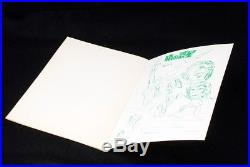 Rare Planet of the Apes japanese showa note book set (mn45)